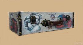Куфар стил Винтидж 2690-2