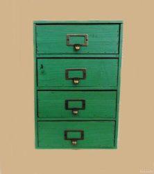 Мини шкаф винтидж 2693