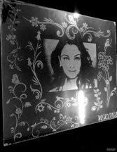 Лазерна гравюра върху стъкло 1