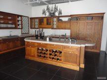 Кухня с плот от Технически Камък 4
