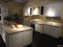 Кухня с плот от Технически Камък 7