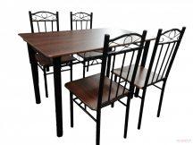 Комплект маса и столове 13 В метал